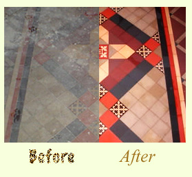Aquamix before and after